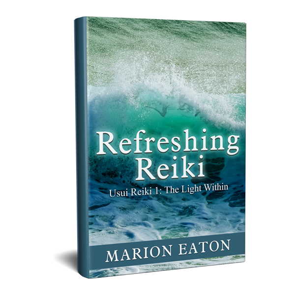 Refreshing-reiki-book-cover-design