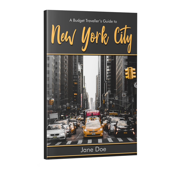 Travel Book guide cover design