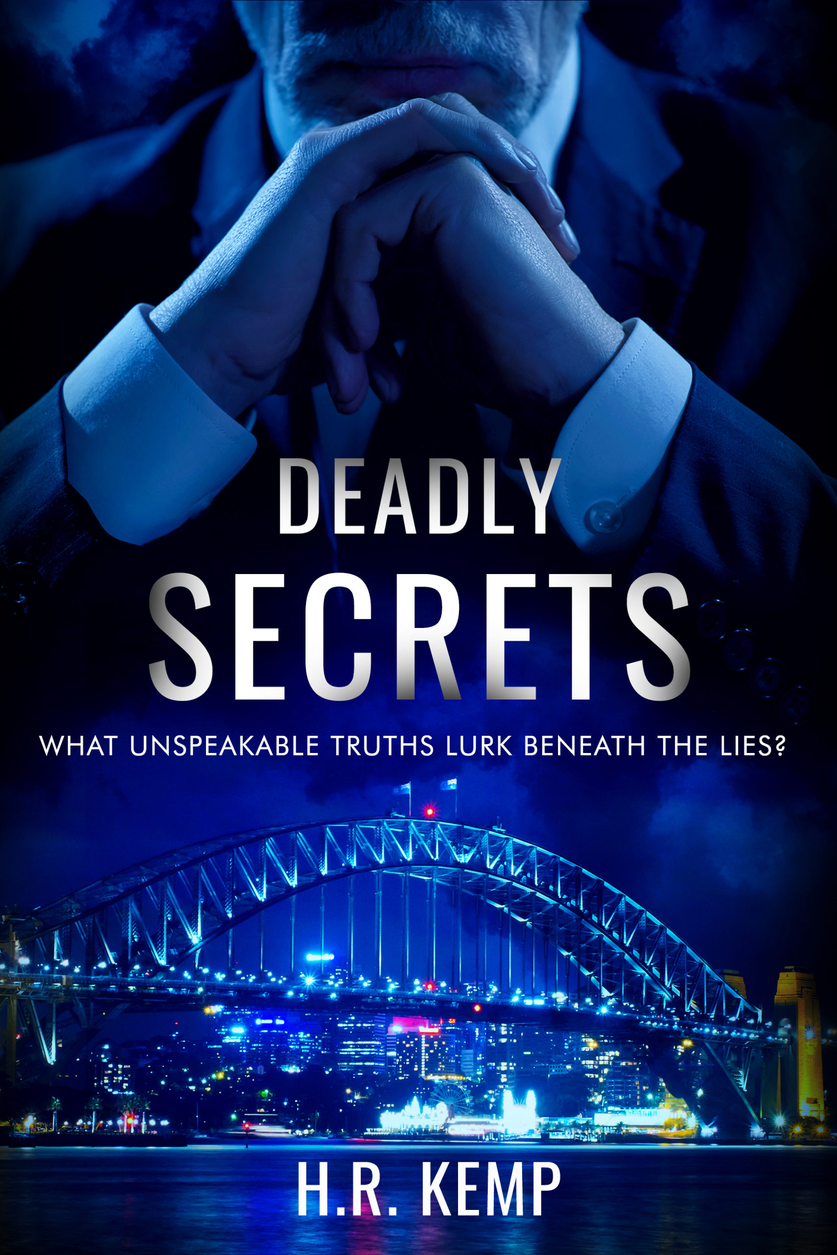 deadly-secrets-political-thriller cover design