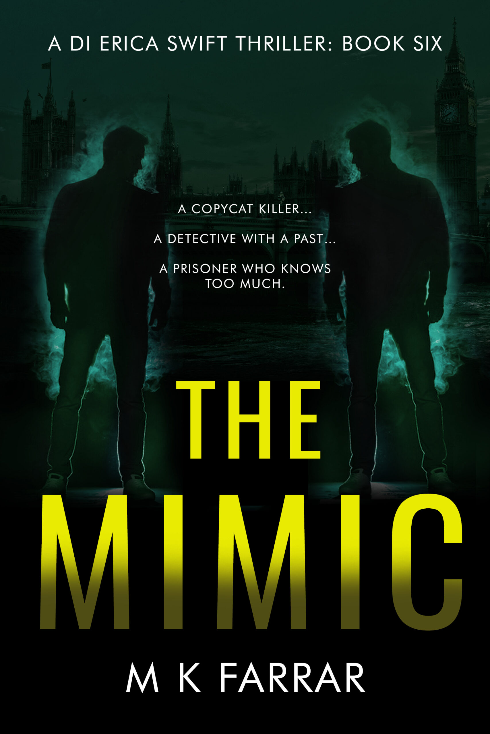 Mimic Thriller Cover Design